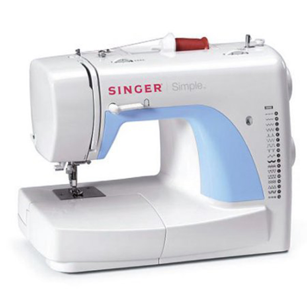 SINGER 40 SIMPLE Supra Enterprises Corp Awesome Singer Zigzag Sewing Machine 2263