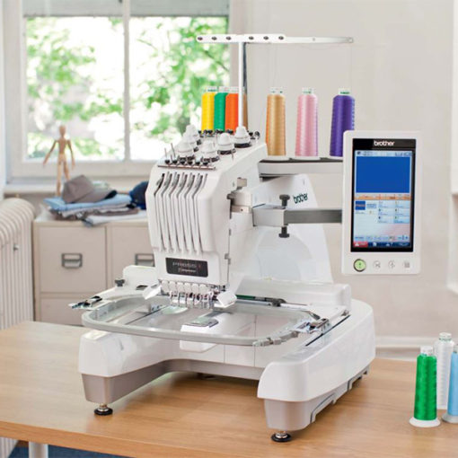 How To Profit From A Home Sewing Business: BROTHER ENTREPRENEUR® PR655C